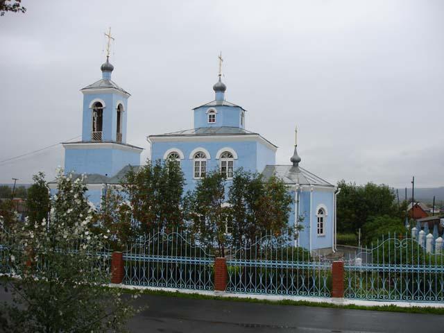 Церковь в Назарово